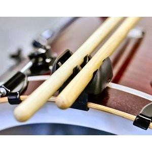 Stageworks Rimma Bassdrum Stickholder - Drumsticks Halter mit Drumkey