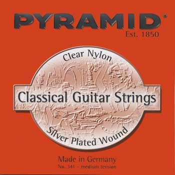 Pyramid Classic Gitarre Satz, Nylon, versilbert