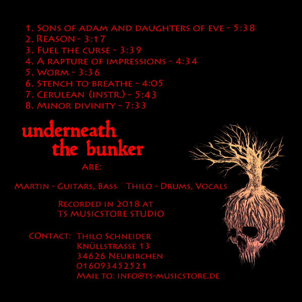 underneath the bunker: »CUSTODIAN« auf CD