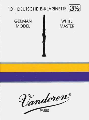 Vandoren White Master B-Klarinette 2 , deutsch