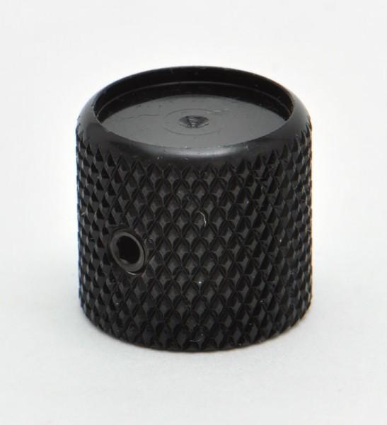 KB50C Göldo DIAMOND Knob, black - Tonreglerknopf