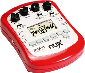 nuX PG-1 Portable Guitar Effects Processor