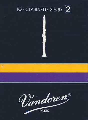 Vandoren Classic B-Klarinette 2 franz. , Blatt