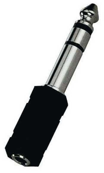 3,5 mm Stereo-Klinkenbuchse auf 6,3 mm Stereo-Klinkenstecker