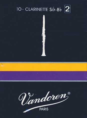 Vandoren Classic B-Klarinette 2 1/2 franz. , Blatt