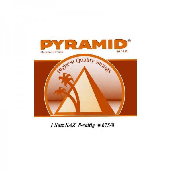 Pyramid 675/8 Saiten für Türkische Baglama Saz (türkische Langhalslaute)